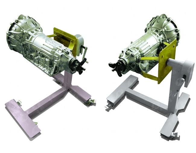 丰田a340e自动变速器拆装实验系统